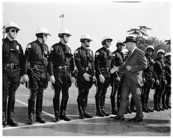 Eisenhower at Exposition Park, 1958