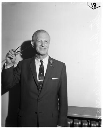 Rose Tournament president, 1957