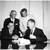 Contract signing (Dodgers), 1959