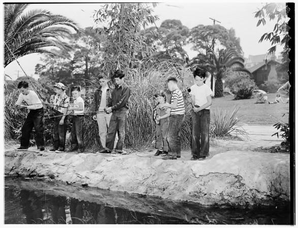 Fish at Echo Park, 1952.