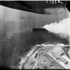 S.S. Dominator on fire, 1961