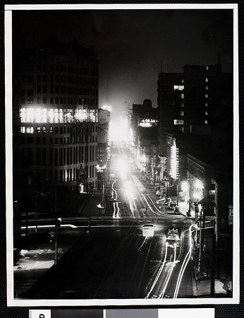Los Angeles blacked out in raid alarm, 1941