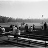 Hollywood Park workouts and people, 1961