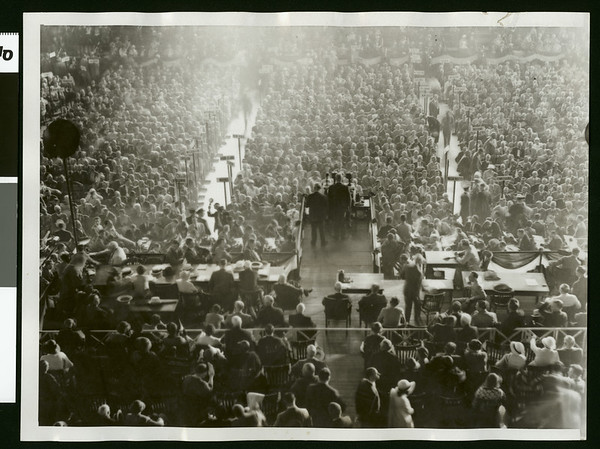 At GOP Convention second session, 1932