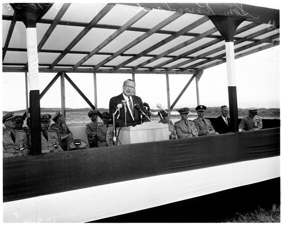 National Pacific Range -- Missile Base at Pt. Arguella, 1958