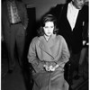 Cheryl Crane (appears in court), 1958