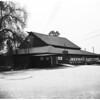 Hotel: Proposed $1,000,000 hotel to be built on site of Jim Jeffries Barn, Burbank, 1954