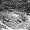 Sansone air photos of Rose Bowl taken from blimp, 1956