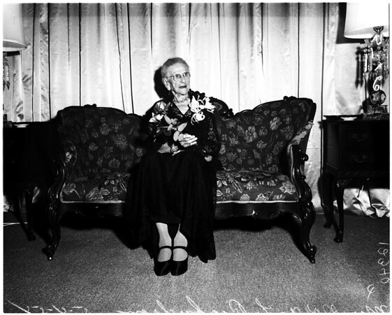 One hundreth birthday, 1958