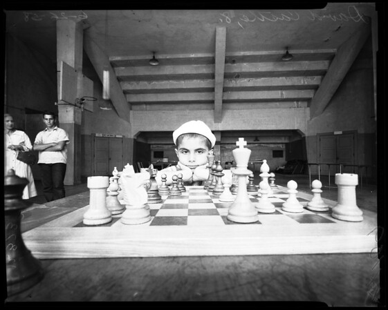 Chess contest, 1958