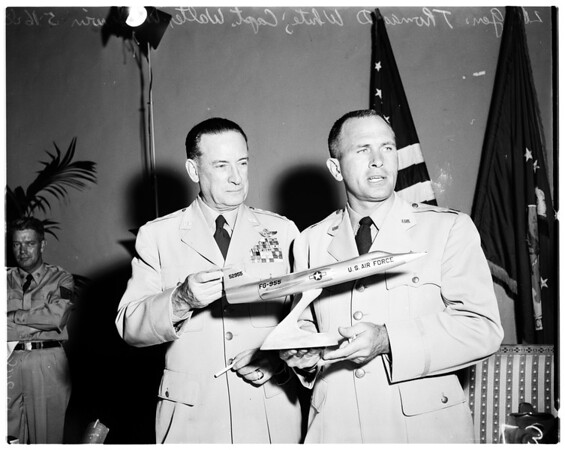 United States Air Force General, 1958