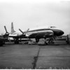British aircraft at International Airport, 1958