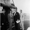 Board of Utilities helicopter trip (city), 1955