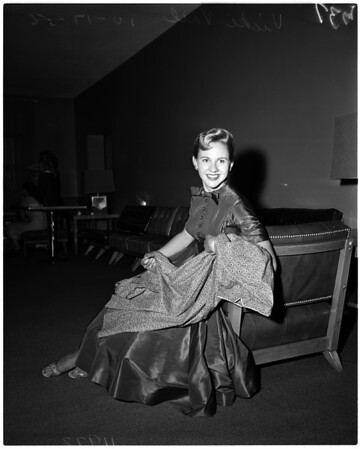 University of Southern California Maid of Cotton, 1956