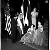 Women planning consular reception, 1958