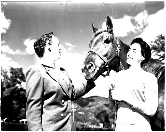 Flintridge Riding Club Guild horse show, 1958