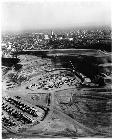 Dodger stadium (Chavez Ravine), 1961