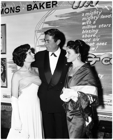 """Premiere of """"Big Country"""", 1958"""