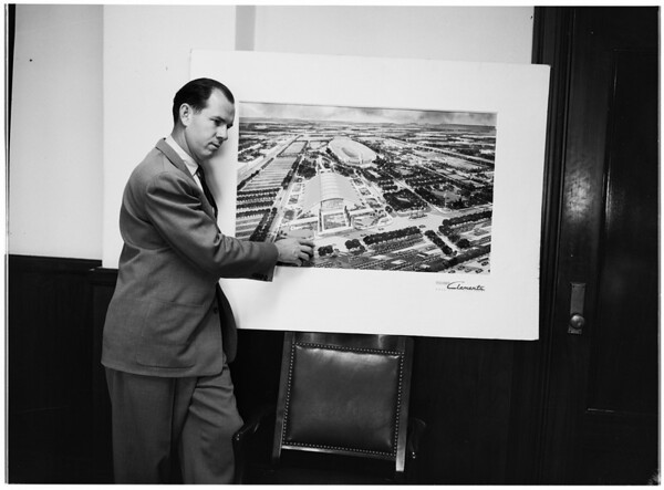 Proposed Sports Arena, 1955