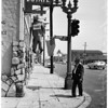 Faubus hanged in effigy at West Adams and Lucerne, 1958
