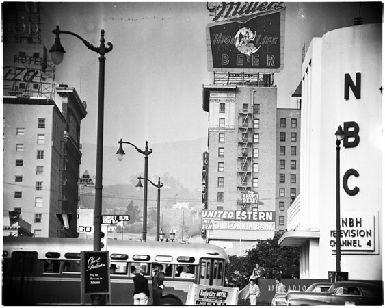 Examiner annual scenes in Hollywood, 1951/1953