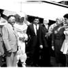 Aero club arrival, 1958