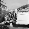 Palisades trailer bowl (owners protest moving), 1958