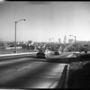 Shots of freeways for annual review, 1955