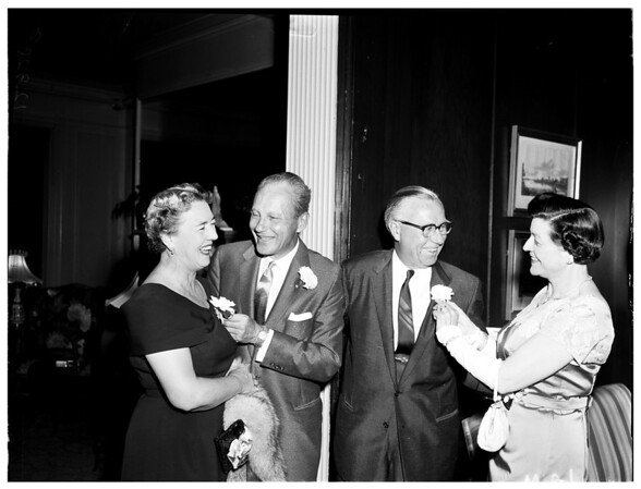 Payne party (L.A. Country Club), 1958