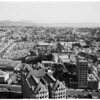 Los Angeles from City Hall Tower, 1953