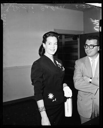 Cahan divorce, 1958