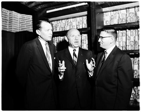 Javits interview, 1958