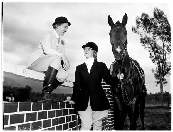 Bit and Bridle Club, 1958