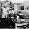 Los Angeles City Police Crime Laboratory feature, 1955