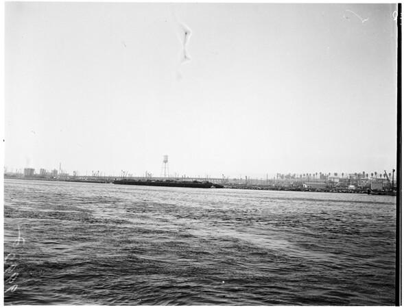 Harbor negatives, 1953