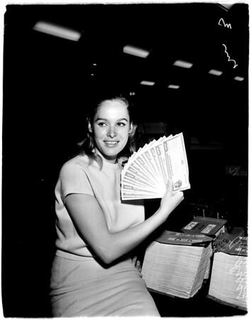 Receives bonds, 1958