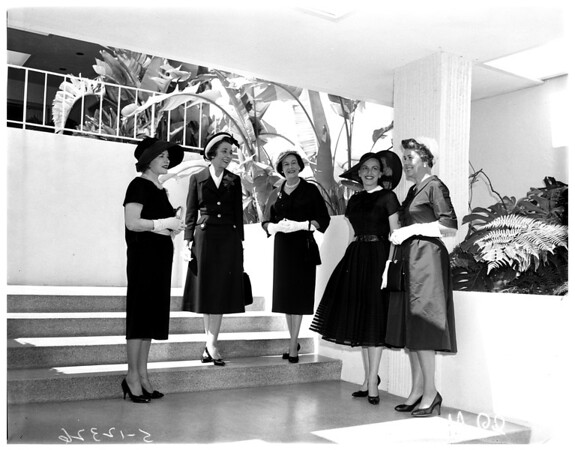 10 best dressed women at Afternoon with Eve Party, 1958