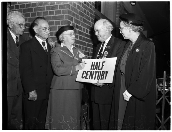 University of Southern California Half Century Club, 1954