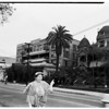 Melrose Hotel feature (tearing down old hotel), 1957