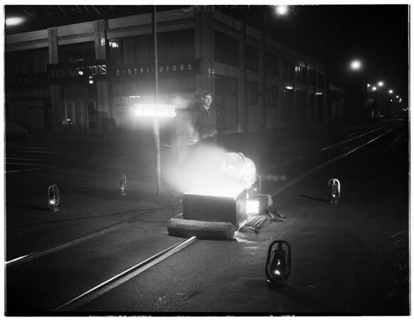Night jobs feature, 1953