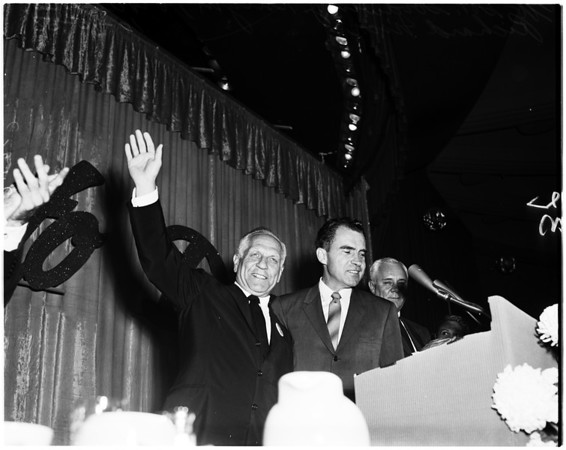 Nixon in Los Angeles, 1958