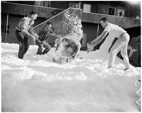 University of Southern California snowball party, 1956