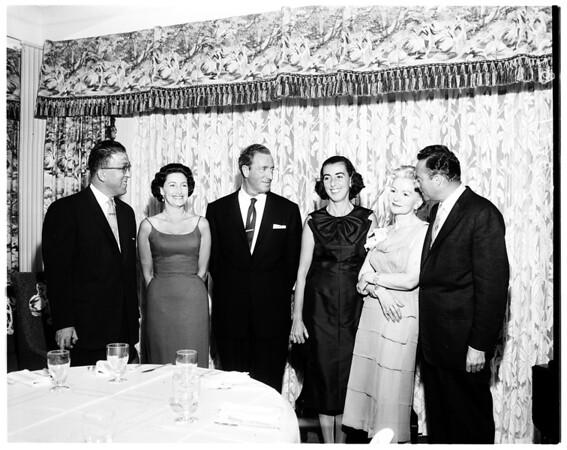 Mark Brandler wedding, 1958