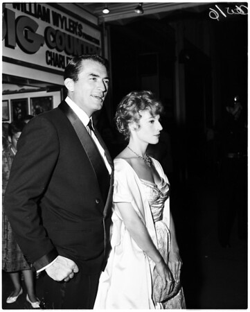 "Premiere of ""Big Country"", 1958"