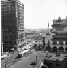 Examiner and Case Hotel buildings, 1956