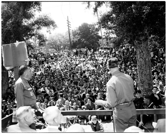 Boy Scout day in South Pasadena, 1958