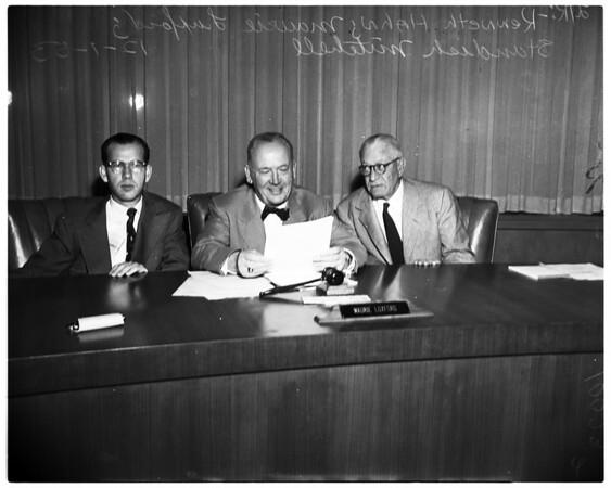 Coliseum Commission, 1953