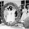 University of Southern California pansy ring ceremonies, 1954