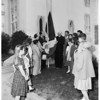 Los Angeles Consuls: Dominican Republic celebrate Pope's anniversary, 1954