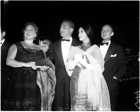 """Premiere of """"South Pacific"""", 1958"""